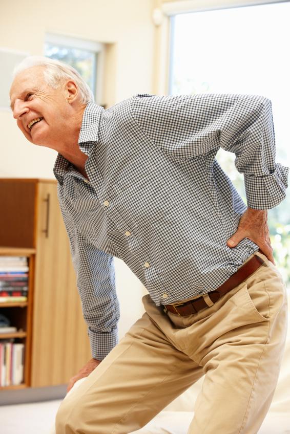 Senior Back Pain